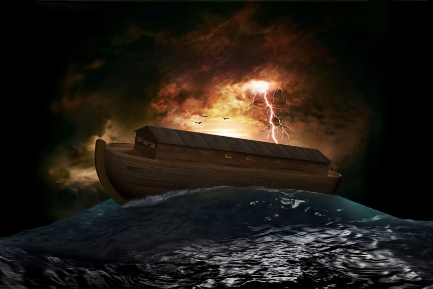 Noah's ark in the sea, return of the 'days of Noah' are end time signs