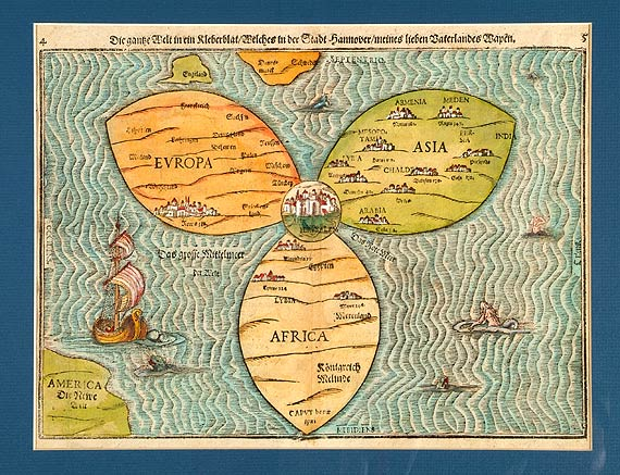 Jerusalem centre of ancient world