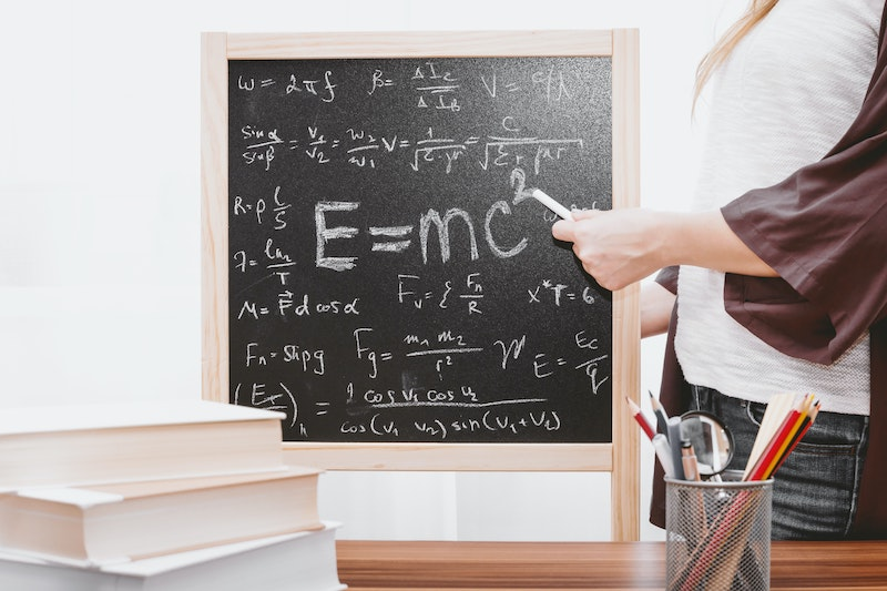 Mathematics is evidence for the existence of God