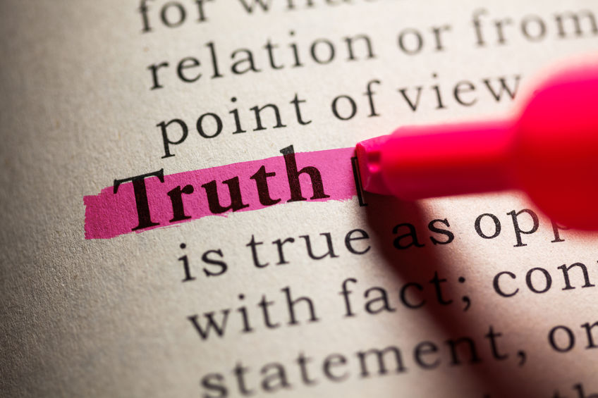 Truth - does anyone really want the truth?